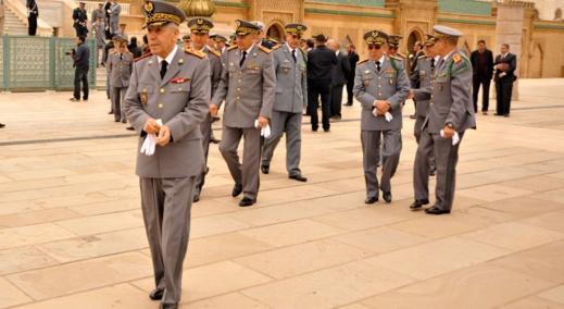 انتشار كورونا وسط الحرس الملكي يسقط جميع مساعدي الجنرال ميمون المنصوري