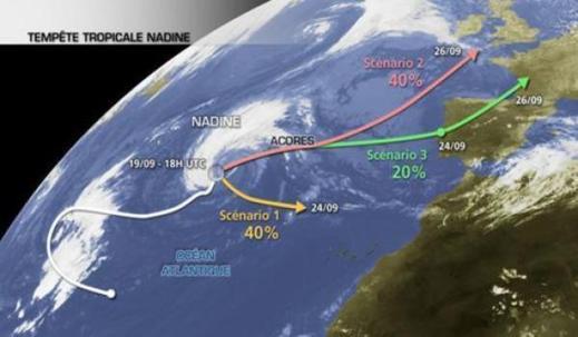 إعصار قد يهدد قريبا سواحل المغرب والأرصاد الجوية الوطنية تكذب