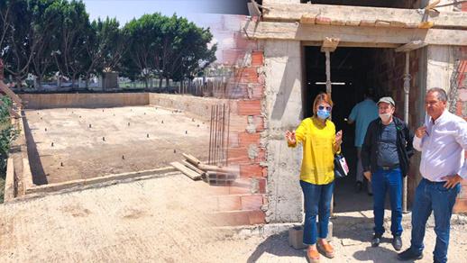 الناظور.. أحكيم وهوبان يطلعان على أشغال مشروع بناء المسبح البلدي بساحة الشبيبة والرياضة