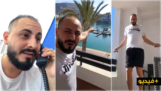 شاهدوا.. كيف يقضي الفنان علاء بنحدو فترة الحجر الصحي الإجباري على العائدين من أوروبا ؟