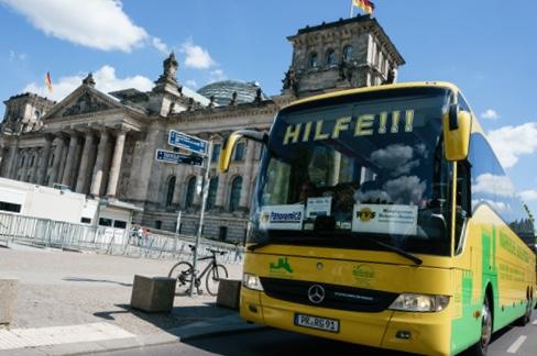 طلاء فريد للوقاية من كورونا ومختلف الفيروسات في حافلات ألمانيا