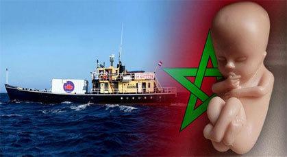سفينة الإجهاض الهولندية .. ترسو بشواطئ المغرب
