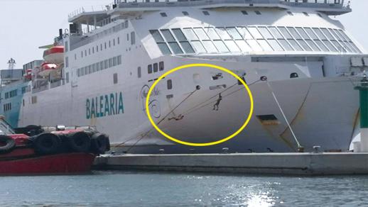 مليلية.. إحباط محاولة تسلل شابين الى داخل باخرة تستعد للإبحار الى إسبانيا
