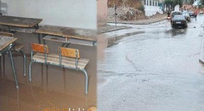 التساقطات المطرية تكشف عن الحالة الكارثية للبنية التحتية وشبكة التطهير بزايو