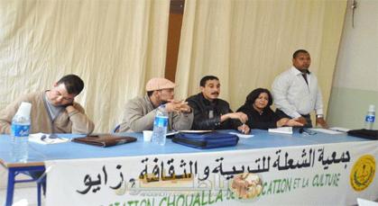 الدكتورة ابتسام مراس تحمل مشعل جمعية الشعلة للتربية والثقافة بمدينة زايو