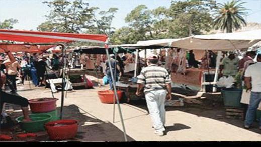 مصدر مسؤول: سوق نموذجي ب 17 مليون درهم ومحلات تجارية هو البديل المقترح لسوق أزغنغان