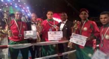 المنتخب المغربي للفول سومي كونتاكت يحرز على لقب الدورة الثالثة للبطولة الافريقية
