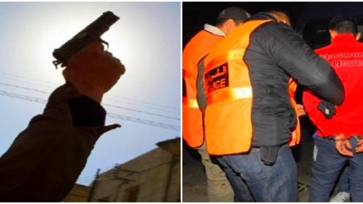 شرطي يستخدم مسدسه لتحييد مجرم وصاحب سوابق في حالة هستيرية
