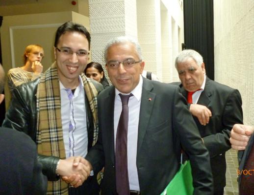زيارة مباغتة لوزير الجالية للمركز المغربي الفلمنكي ببروكسيل
