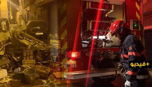 اندلاع حريق بمرآب منزل غير آهل بالسكان بحي عري نالشيح وسط الناظور