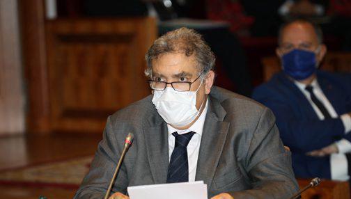الانتخابات تجمع وزير الداخلية برؤساء الأحزاب الممثلة في البرلمان