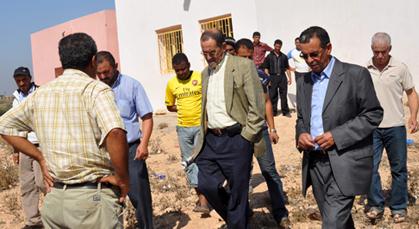 لجنة اقليمية تقرر اضافة حجرتين بفرعية عين الديب التابعة لمدارس اولاد منصور
