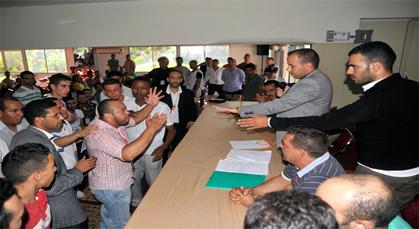 نجاح متميز للمؤتمر الرابع لشبيبة جبهة القوى الديمقراطية بحضور ناظوري لافت
