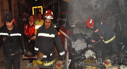 اندلاع حريق مهول بأحد المنازل بزايو يخلف خسائر مادية جسيمة
