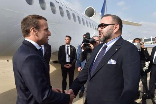 الملك محمد السادس يؤكد: شراكة المغرب وفرنسا تشهد نموا وتطورا متواصلين