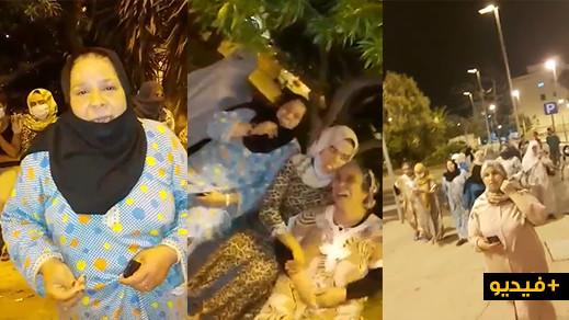 فيديوهات مؤثرة لمغربيات عالقات بمليلية يناشدن الملك والحكومة فتح الحدود