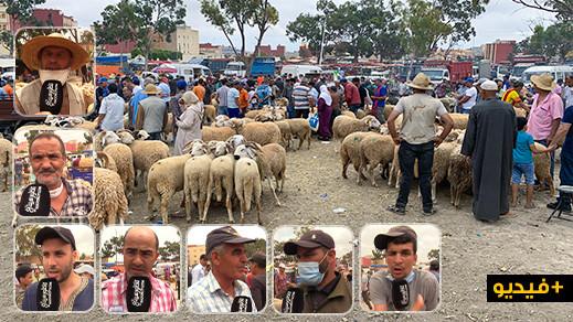 شاهدوا.. إقبال كبير على سوق المواشي بازغنغان والتجار يرفضون الإجهاض على مكان السوق الأسبوعي