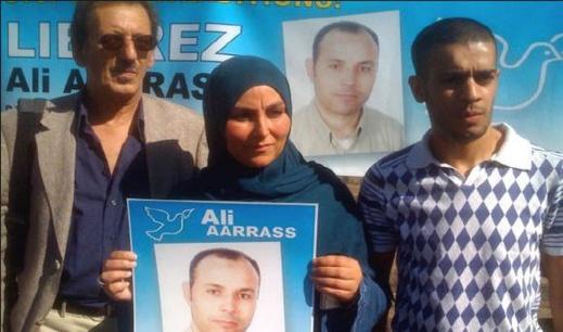 علي أعراس يصل إلى بروكسيل بعد قضائه 12 سنة من السجن بالمغرب