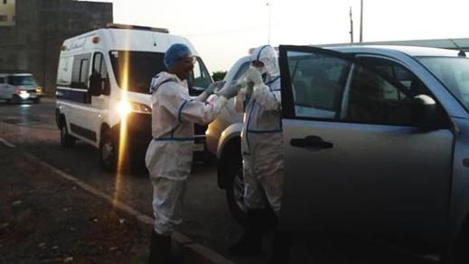 نقل مصابة جديدة بكورونا من جرسيف إلى الناظور ليلة أمس