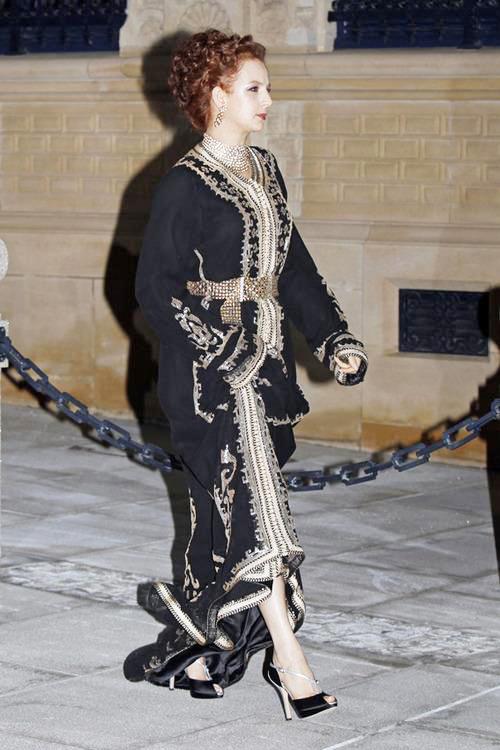 الأميرة للا سلمى تحضر حفل زفاف ولي عهد اللوكسمبورغ