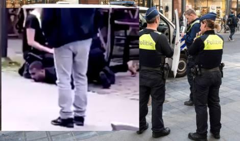 الشّرطة البلجيكية تقتل مهاجرا على طريقة جورج فلويد