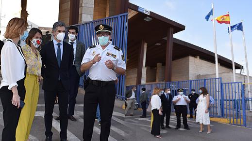 كاتبة الدولة المكلفة بالهجرة في الحكومة الإسبانية تزور مليلية المحتلة ومعبر بني أنصار