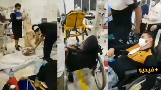 طنجة.. اكتظاظ خانق في مستشفى محمد السادس بسبب تزايد أعداد المصابين بكورونا