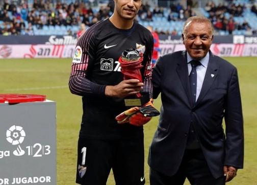 اختيار المحمدي أفضل حارس في دوري الدرجة الثانية بإسبانيا