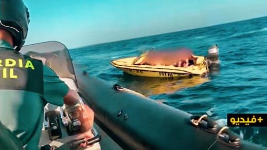 الحرس الإسباني يعتقل إسبانيا حاول تهريب ثلاثة مغاربة إلى سبتة على متن يخت