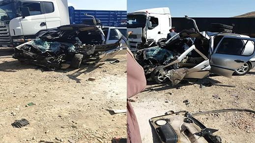 اصابة دركي بجروح خطيرة إثر حادثة سير بالقرب من ميضار