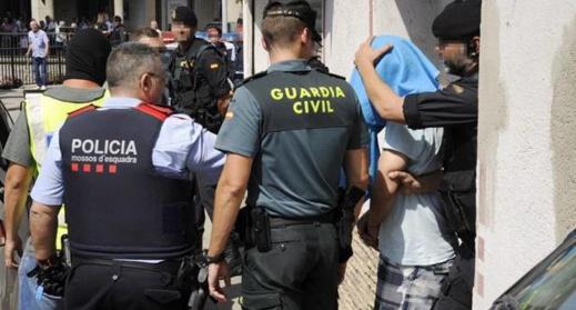 اعتقال مغاربة إثر تفكيك شبكة دولية لغسل الأموال والاتجار بالمخدّرات في إسبانيا