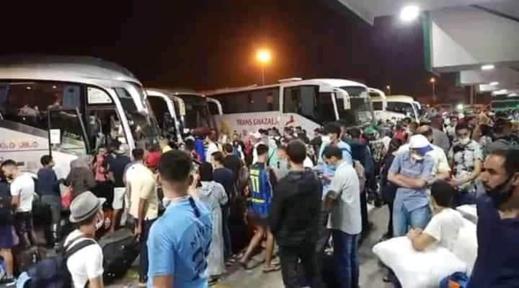 وزارة التجهيز والنقل تشدّد على ضرورة التقيد بالقرارات الخاصة بمنع السفر من وإلى 8 مدن