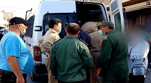 سلطات الناظور وأزغنغان تحرر خلال يوم واحد أزيد من 130 غرامة بسبب عدم ارتداء الكمامة