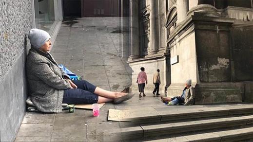 برلمانية ريفية تتحول إلى متسولة في شوارع بلجيكا من أجل كتاب اجتماعي