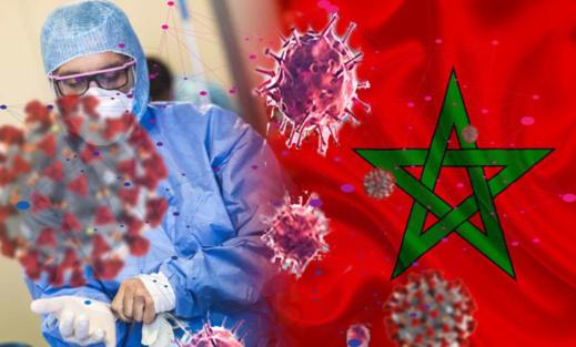 التوزيع الجغرافي لحالات الاصابة بفيروس كورونا المستجد على المستوى الوطني