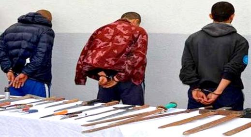 اعتقال 3 متورطين في عملية اختطاف شاب وطلب فدية بسبب تصفية حسابات الاتجار في المخدرات