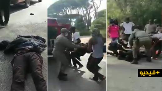 مهاجرون أفارقة يتهمون سلطات طنجة بقتل رفيقهم
