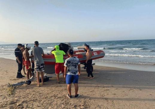شاطئ بوقانا  يلفظ جثة شاب مفقود منذ يوم العيد