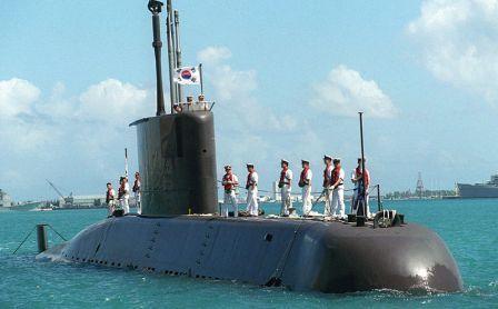 نموذج من الغواصة 209