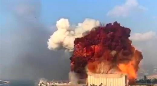 """الجمارك اللبنانية: مادة """"النترات"""" هي سبب الانفجار الضخم في مرفأ بيروت"""
