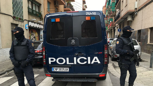 أفراد شبكة دولية للاتجار في السلاح ضمنهم مغاربة في قبضة الحرس المدني الإسباني