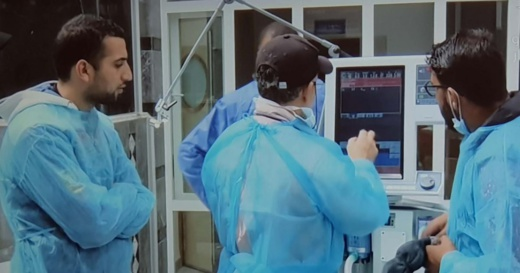 توزيع حالات الاصابة الجديدة  بفيروس كورونا بجهة الشرق