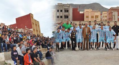 نهضة زايو تتعادل بميدانها ضد النادي الرياضي الحسيمي وسط حضور جماهيري كبير