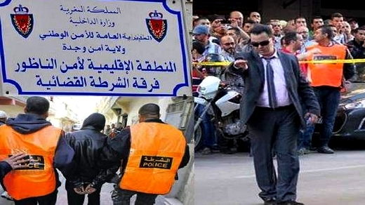 """مداهمة أمنية للشرطة القضائية تنتهي بتوقيف أكبر مروج لـ""""القرقوبي"""" بالناظور"""