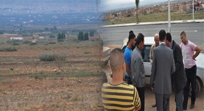 سكان قبيلة أولاد لمريض يطالبون الدولة بإيجاد تسوية قانونية لأرضهم في وقفة احتجاجية
