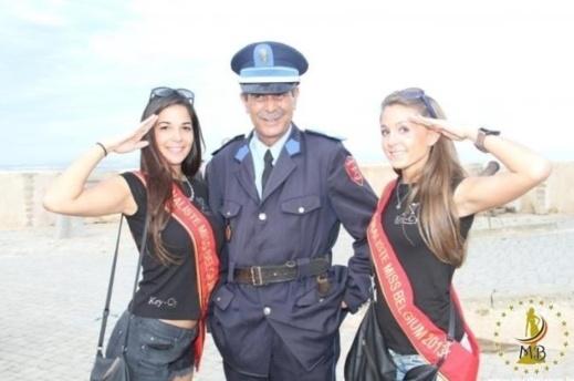 رجل أمن يتحول إلى نجم. صورته رفقة «جميلاتْ بلجيكا» جعلته المغربي الأكثر شعبية هذه الأيام