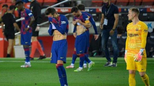 نادي برشلونة يكشف إصابة أحد لاعبيه بفيروس كورونا