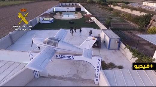 """اسبانيا.. العثور على  طائرة """"بابلو إسكوبار"""" بمناسبة تفكيك منظمة للاتجار في المخدرات"""