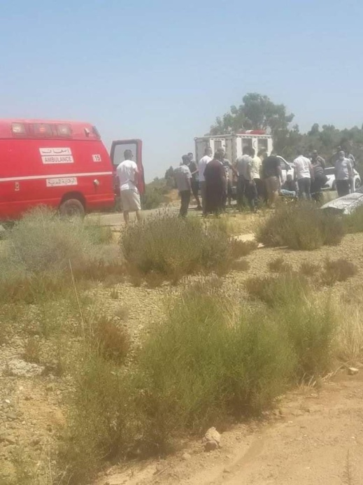 نقل أربعة أشخاص الى المستشفى جراء إصابتهم في حادثة سير خطيرة ضواحي الحسيمة