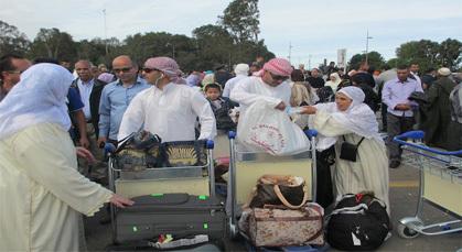 حجاج مغاربة يصلون لمدنهم بدون أمتعتهم لأكثر من أسبوع